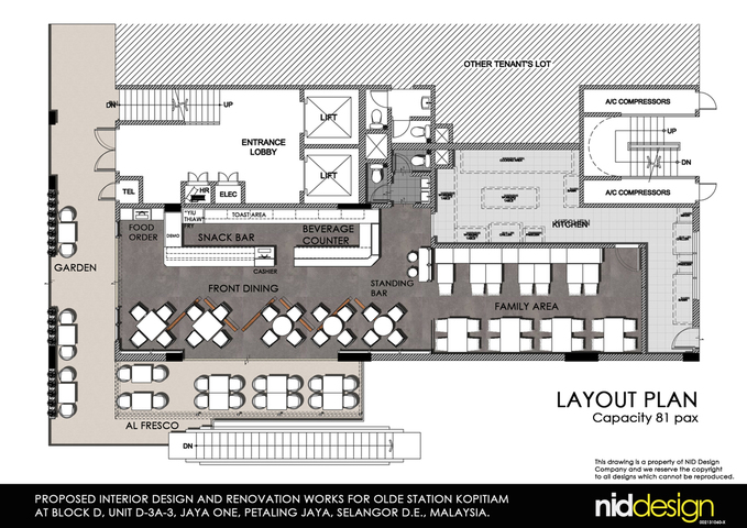 Color Layout Plan