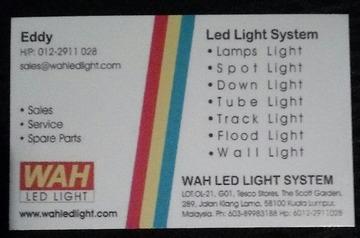 Wah LED Light System