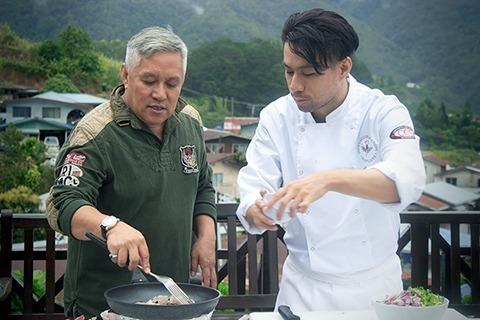 Prof Chet Wan & Master Chef Kit