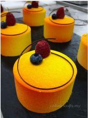 Passion Mango Temptation #moussecake