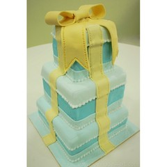 Medium 3 tier wedding cake
