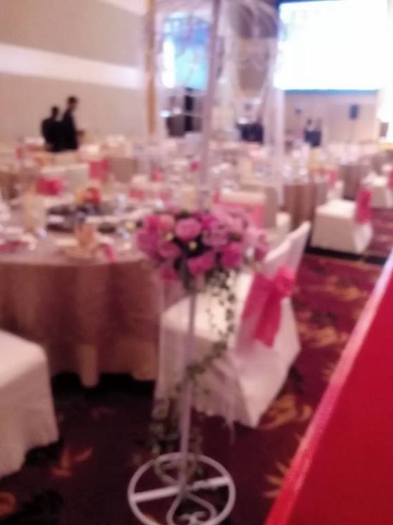Wedding banquet floral decoration by mcclient florist recommend wedding banquet floral decoration junglespirit Image collections
