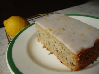 Banana Cake with Lemon Frosting @ RM 70/kg. Potassium for energy, lemon for ZING!