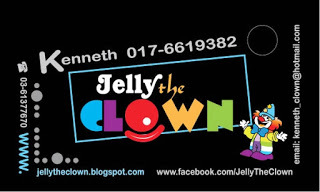Medium jelly the clown design sam 1
