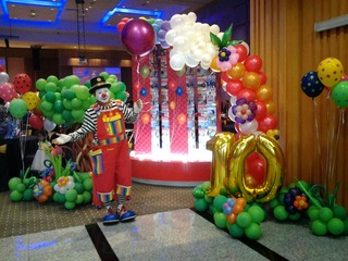 Medium fantastic balloon decoration 2