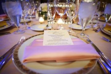 Medium event tables decor