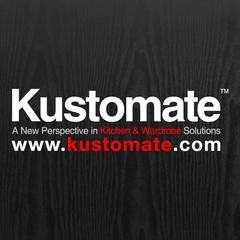 Medium kustomate cabinet industry logo