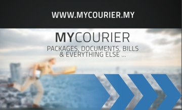 Medium mycourier flyer