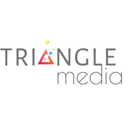 Medium triangle logo