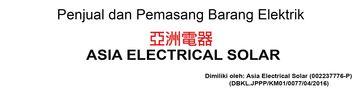Asia Electrical Solar