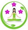 Thumb yoga meditation girl logo 26757685
