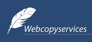 Medium logo web copywriting