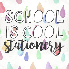 School is Cool Stationery