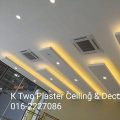 K TWO PLASTER CEILING & DECO