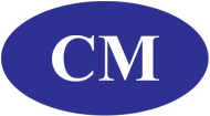 Medium cm logo blue