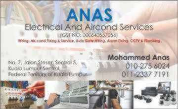 Anas electrical and aircond services