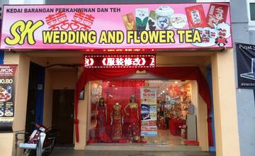 SK Wedding and Flower Tea