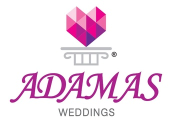 Medium adamas logo weddings registered