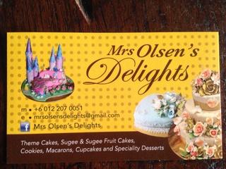 Mrs Olsen's Delights