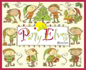 Medium party elves logo