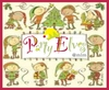 Thumb party elves logo