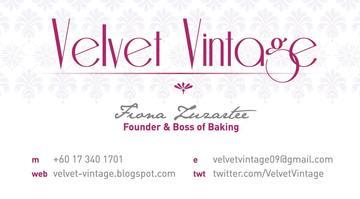 Velvet Vintage Home Bakery & Baking classes