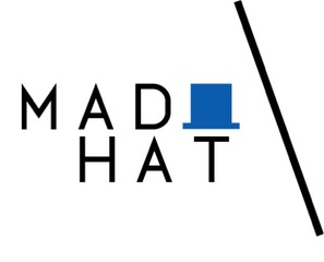 Medium madhat logo whitebg alone