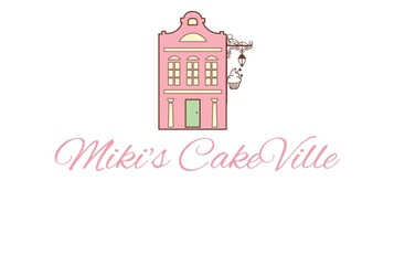 Medium miki cake ville name card without add